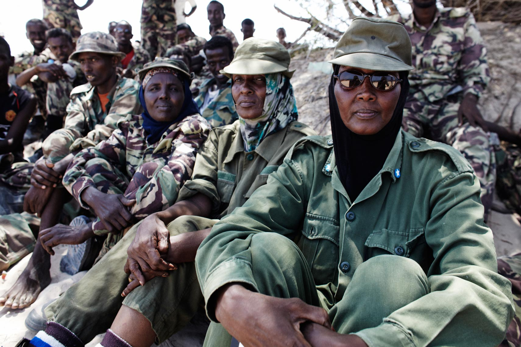 Somalia Female Soldiers