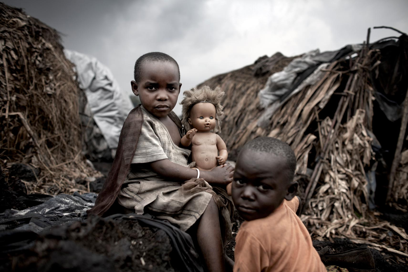 Congo Displaced Children