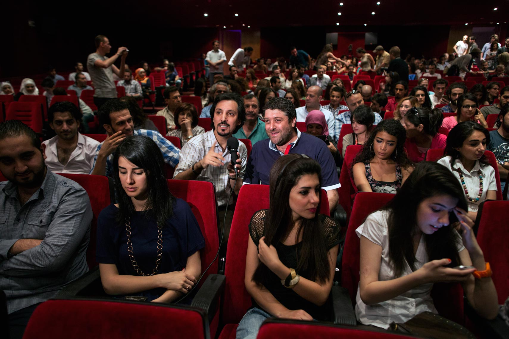 Damascus Syria cinema