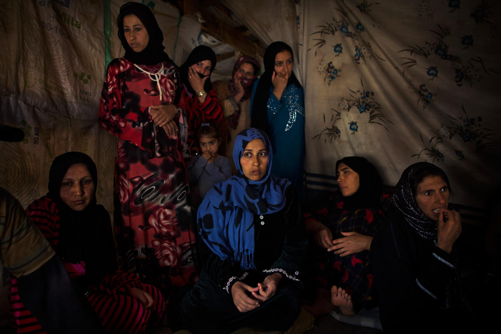 Syrian refugee women